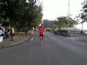 6K finisher at Run For Jake: Save Life (photo by Ronan Gonzales)