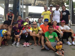 Long run with my G6 Runners teammates (photo by Sheryl Cortes)