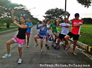 Christmas day fun run with family (photo by Mavy Gail Savellano)
