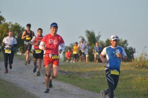 21K Finisher at Xterra Trail Run (photo by Michael Ocana)